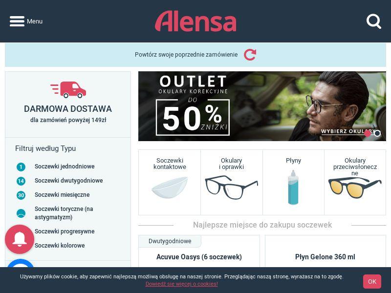 Alensa - PL (PL), [CPS], Health and Beauty, Medicine, Sell, coronavirus, corona, virus, keto, diet, weight, fitness, face mask