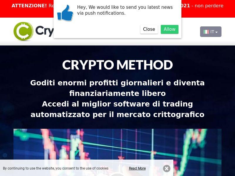 Cryptomethod pro Italian 2153