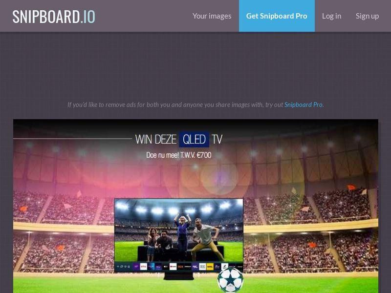 LeadsWinner - QLED TV UEFA 2021 BE - SOI *dutch speaking*