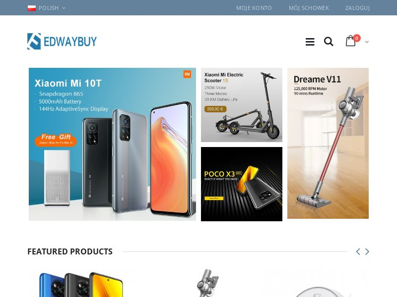 EDWAYBUY (PL), [CPS], Appliances and Electronics, Hardware, Telephones and accessories, Audio and video, Household goods, Sell, shop, gift