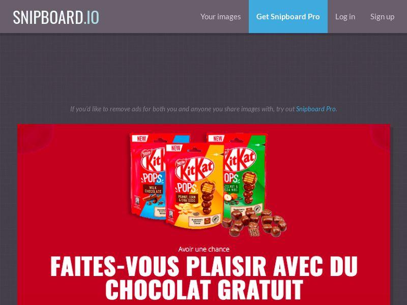LeadMarket - KitKat Pops FR - SOI