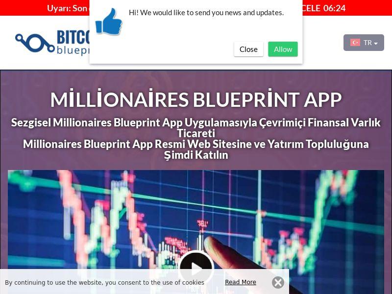Millionaires Blueprint App Turkish 3232