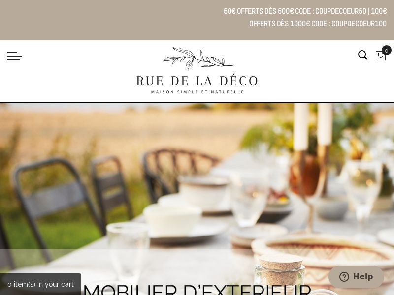 Rue de la déco - FR (FR), [CPS], House and Garden, Household items, Home decoration, Sell, shop, gift