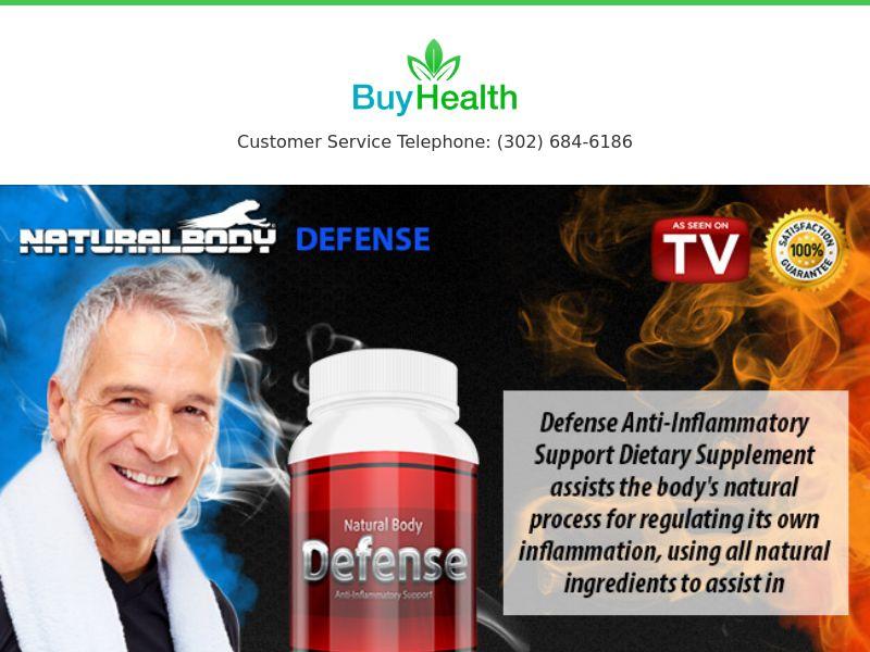 Curcumin 2000 - Defense [HEALTH] - CPA - Straight Sale - INTL