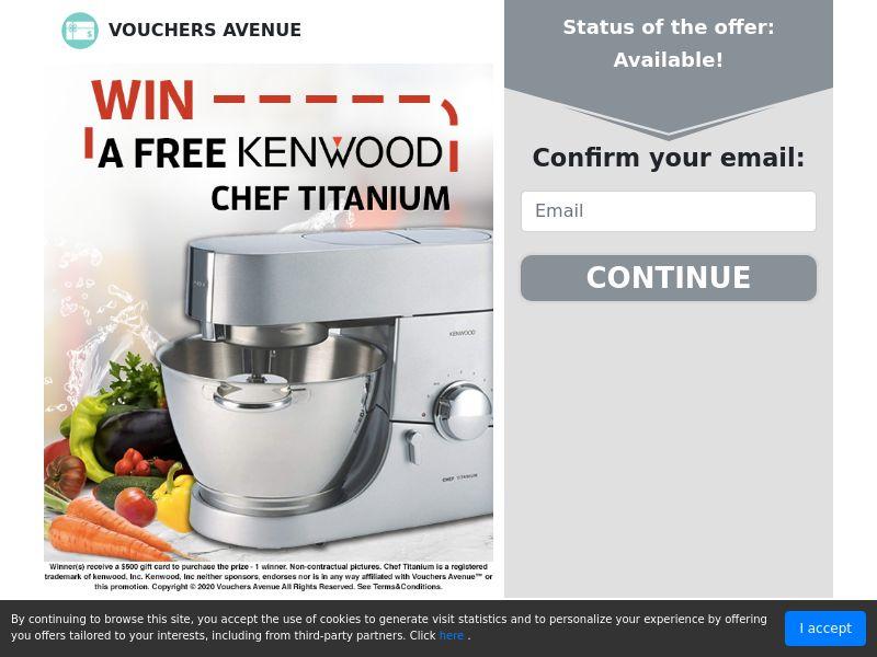 Kenwood Chef Titanium