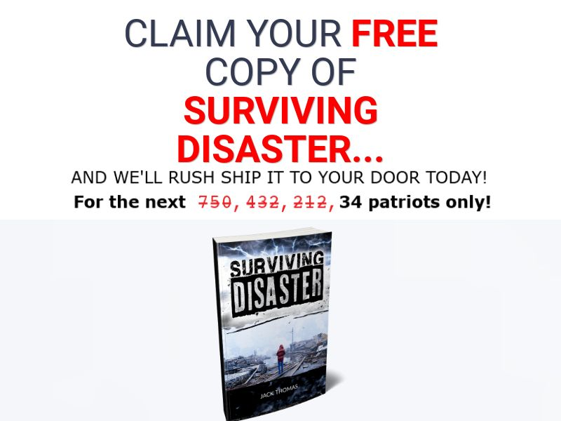 Surviving Disaster Book [US] (Email,Native,Social,Banner,Search) - CPA