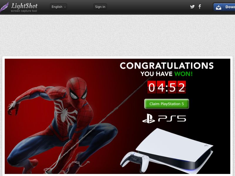 AbsoluteWinner - Playstation 5 (Spiderman Red) (US) (Trial) (Personal Approval)