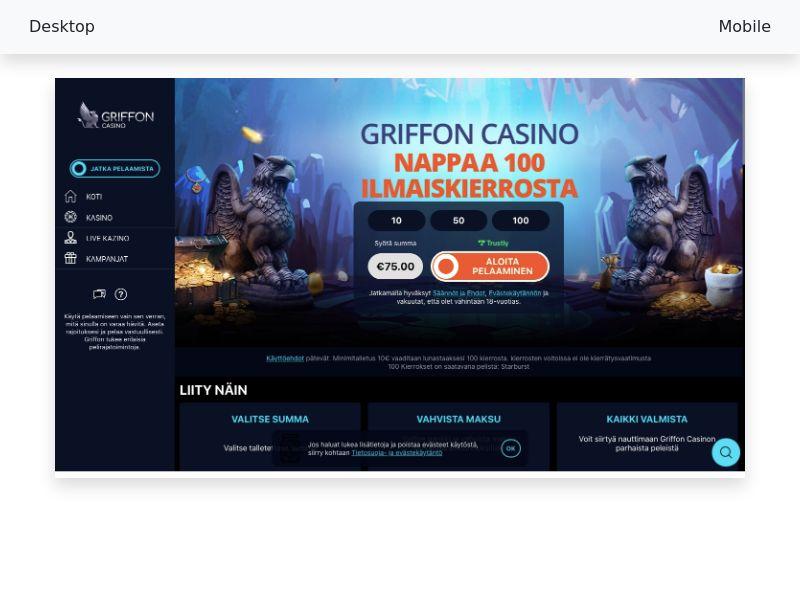 Griffon Casino - CPA - FI, AT
