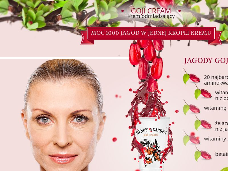 Goji Cream - PL (PL), [CPS], Health and Beauty, Cosmetics, Sell, coronavirus, corona, virus, keto, diet, weight, fitness, face mask