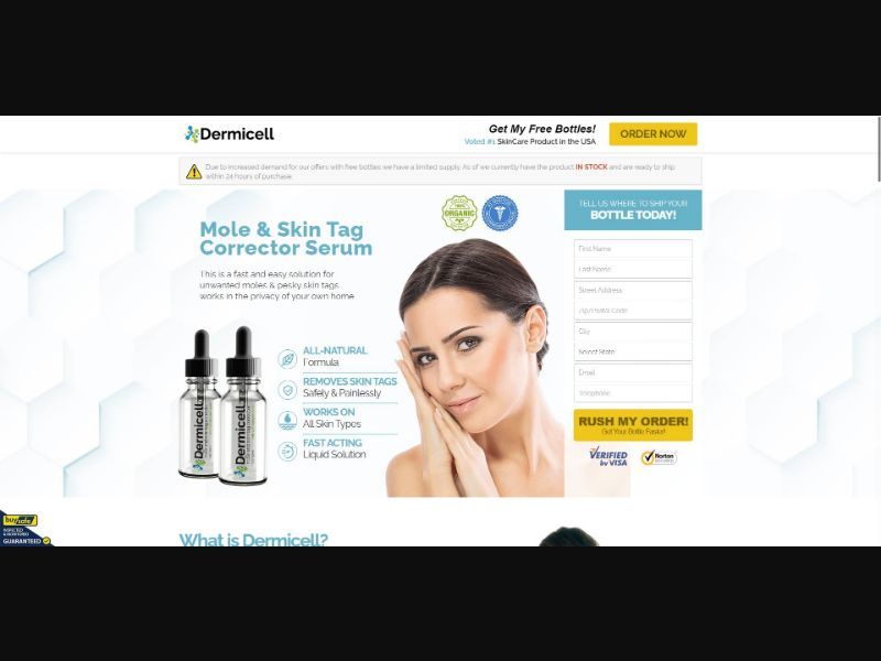 Dermicell Mole And Skin Tag Corrector - Skin Care - SS - [US]