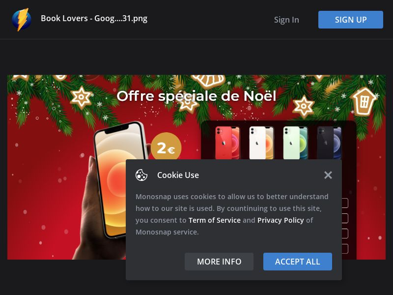 France (FR) - Christmas iPhone 12 2€ (Responsive)