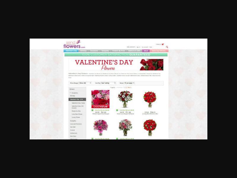 SendFlowers.com - Flower Delivery (US)