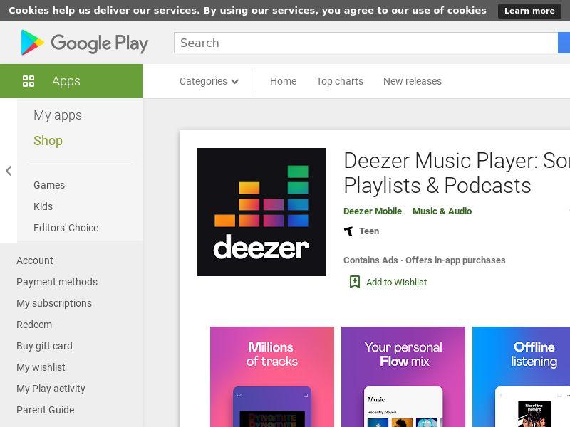 Deezer (Android) - US