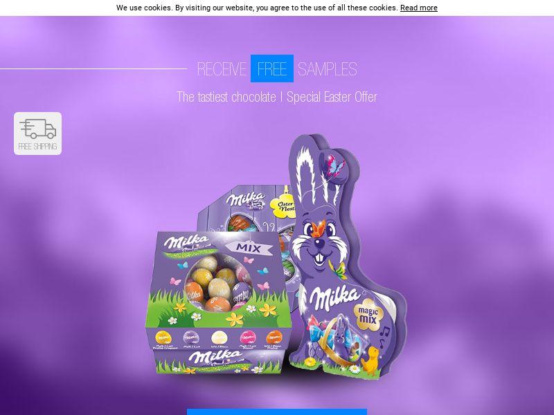 Milka Easter Sweeps - UK
