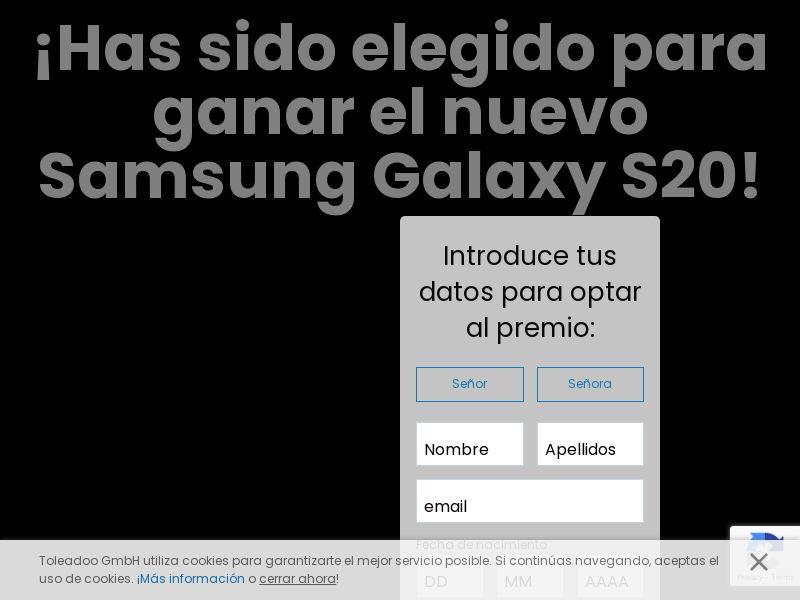 12066) [WEB+WAP] Samsung S20 - ES - CPL