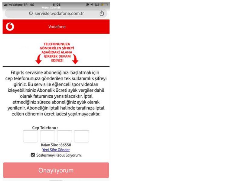 FitGirls Vodafone
