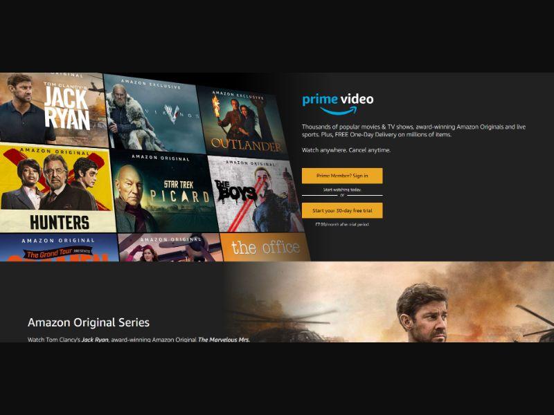 Amazon Prime Video - DE - Incent OK