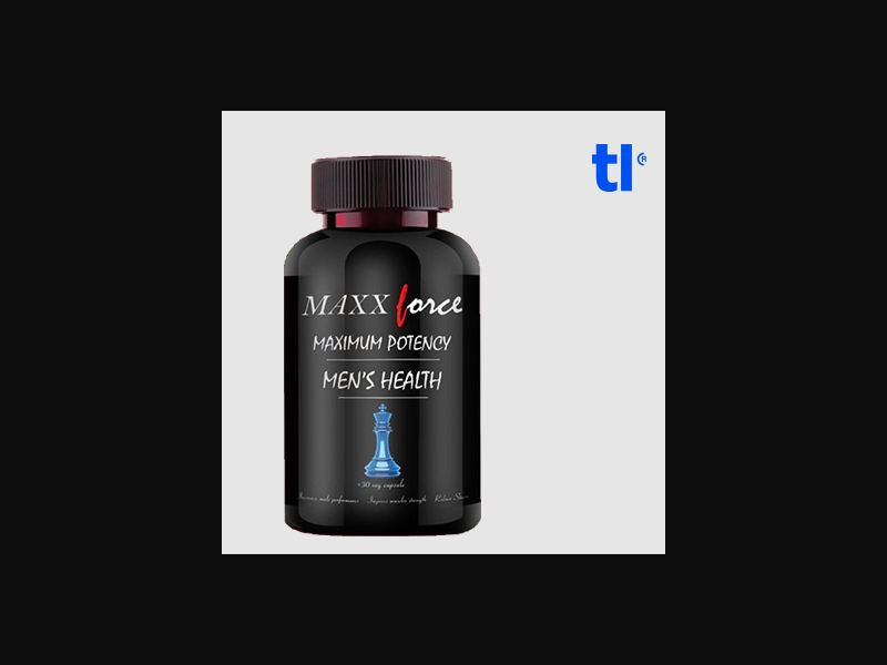 Maxx Force - adult - CPA - COD - Nutra