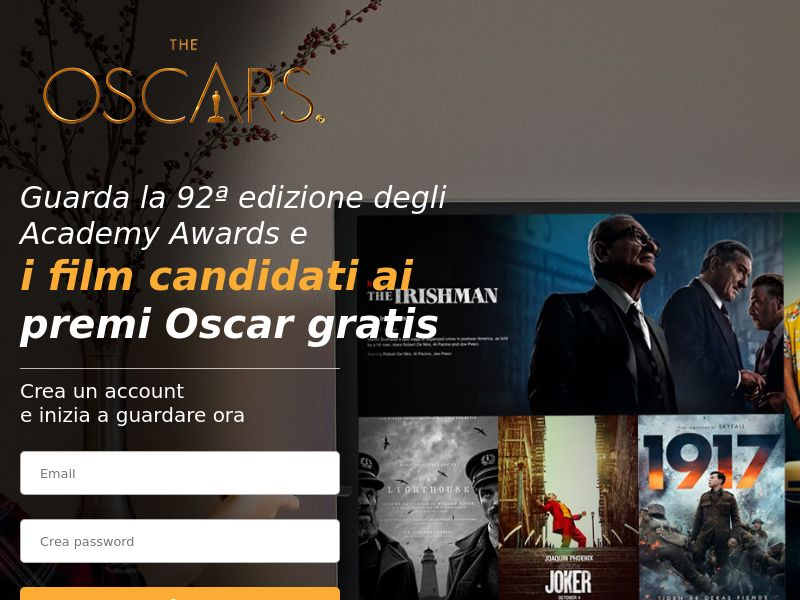 The Oscars - Movievod Streaming - IT - CC Submit