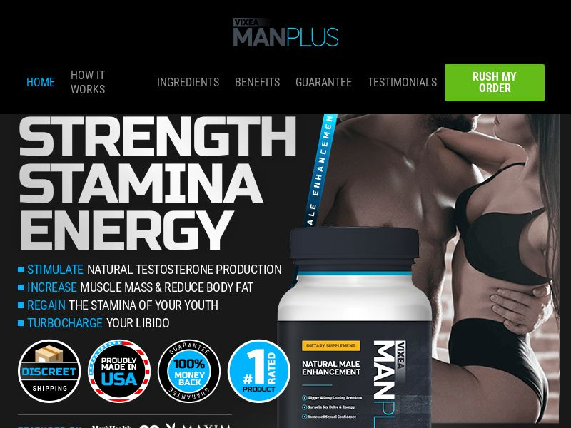 ManPlus Viexa [MALE ENHANCEMENT YOUNG DEMO] - CPA - Straight Sale - INTL