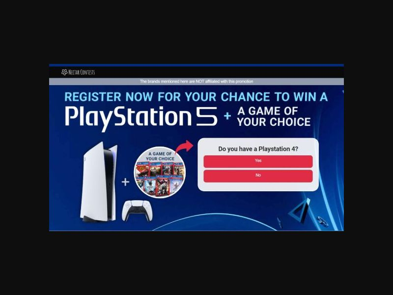 Playstation 5 Contest - SOI (AU)