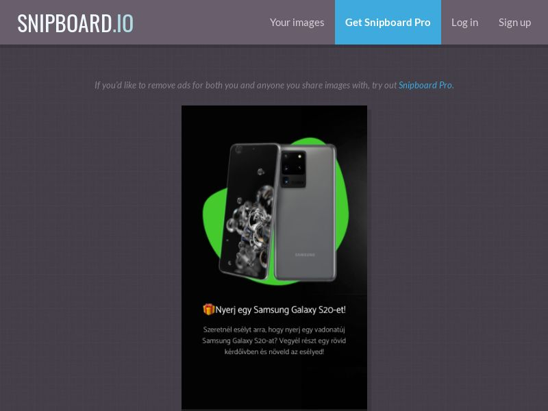 38990 - HU - Samsung S20 0-Black/Win RevShare