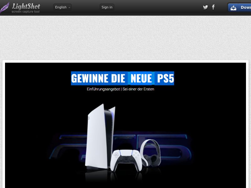 Portal Leads - Playstation 5 (DE) (CPL) (Incent) (Personal Approval)