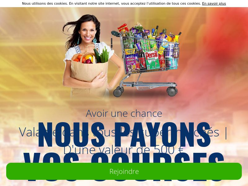 GreenFlamingo - 500€ for your shopping - BE - French (BE), [CPL], Lotteries and Contests, Single Opt-In, paypal, survey, gift, gift card, free, amazon