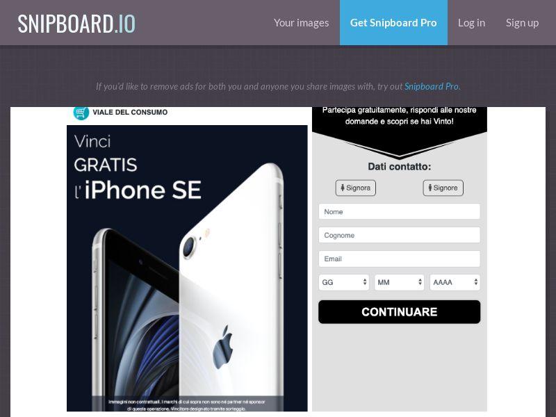 Vinci iPhone SE - IT