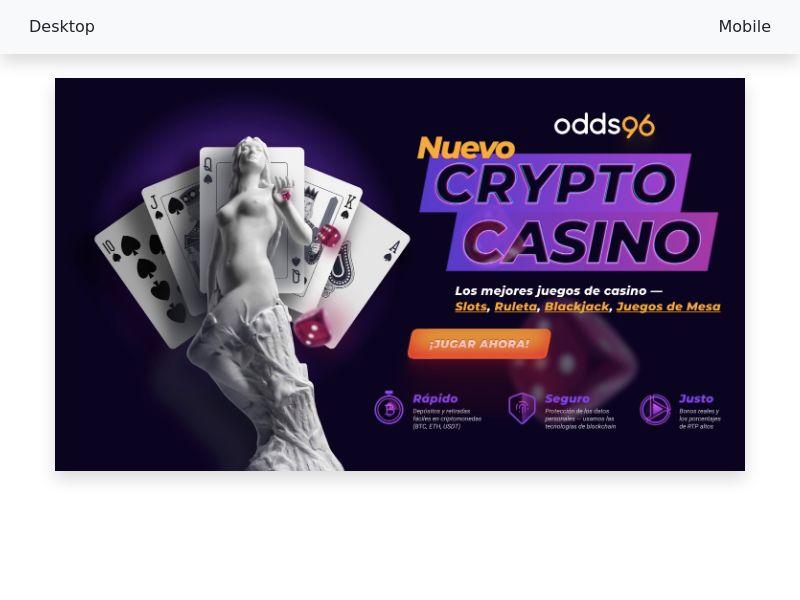 Odds96 Casino - CPA - LATAM