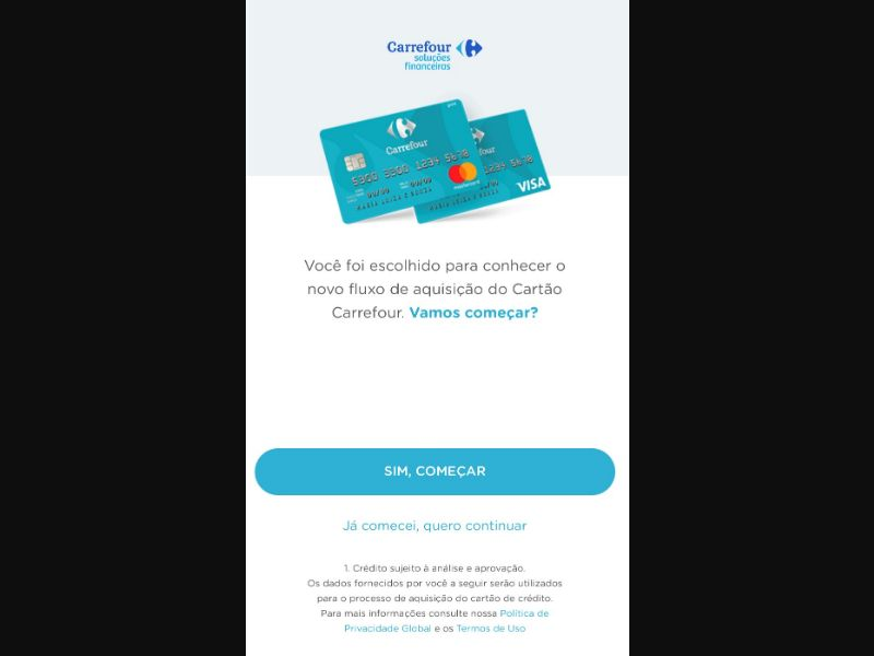 Cartoes Carrefour Exclusive [BR] - CPL