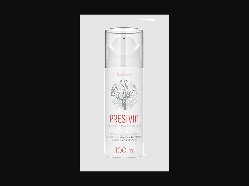 PRESIVIN – NO – CPA – varicose veins – gel - COD / SS - new creative available