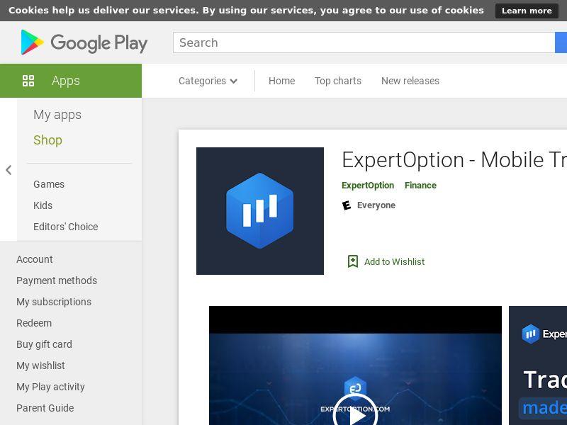 ExpertOption Android IN (CPI)(P360, no farud)(Hard KPI:Install to purchase:15%)