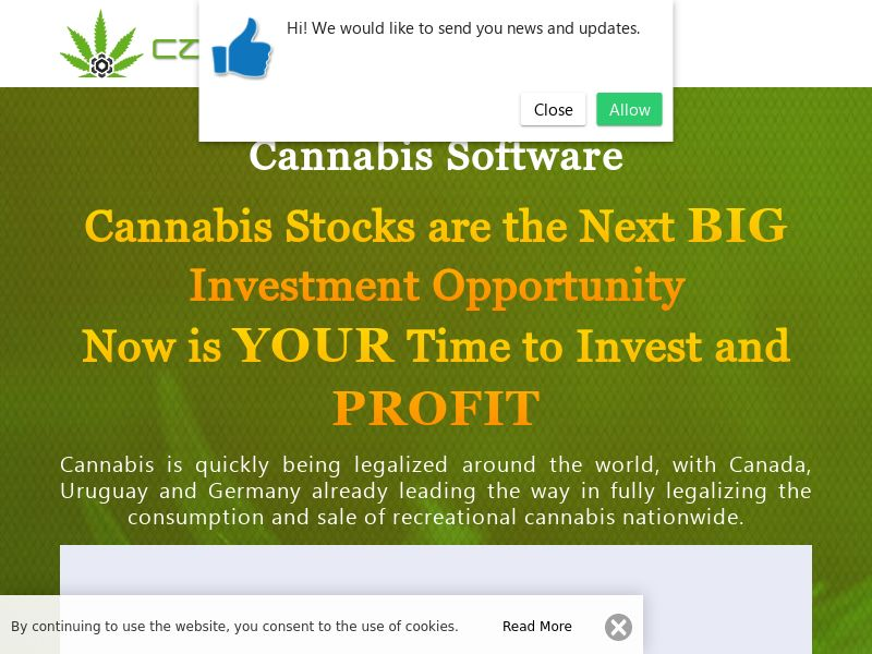 The Cannabis Software English 1366