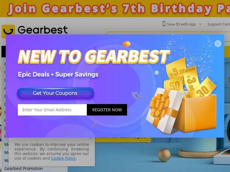 Gearbest - FR (FR), [CPS], Appliances and Electronics, Hardware, Telephones and accessories, Audio and video, Household goods, Fashion, Clothes, Accessories and additions, Accessories, Presents, Sell, shop, gift