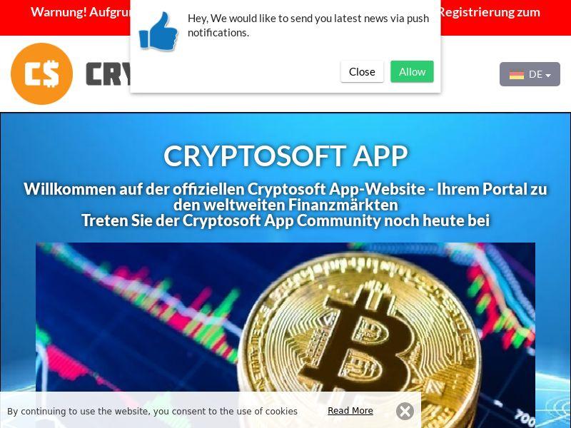 Cryptosoft App German 2966