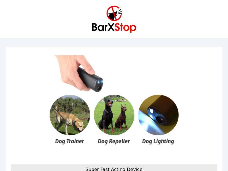 Barkstop - Bark control device - CPA - [INTERNATIONAL]