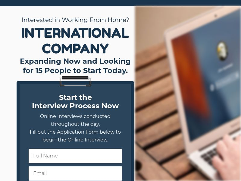 Interested in working from home? - CPL - US [DIRECT]