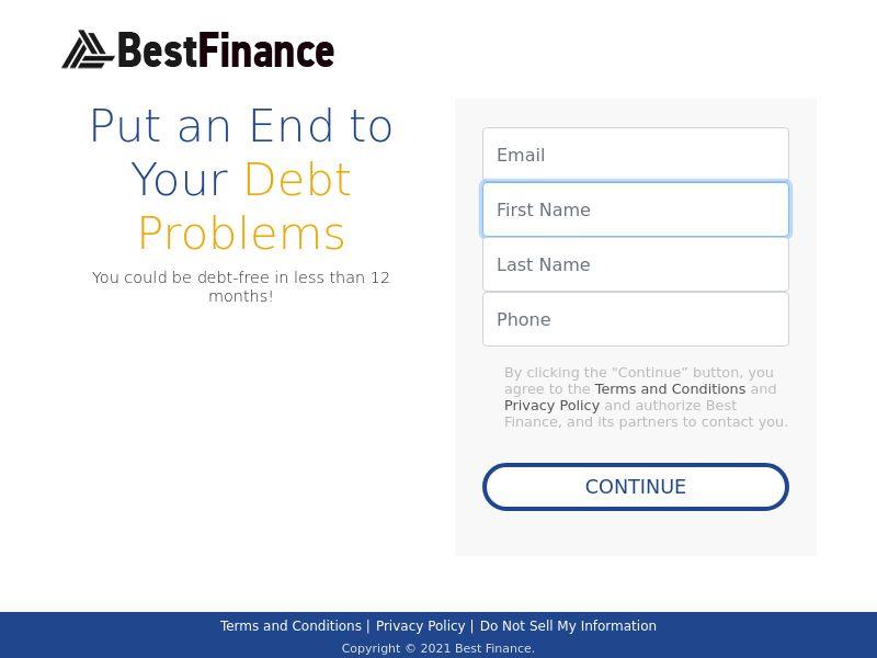 Stop Debt Problems - CPL - US [DIRECT]