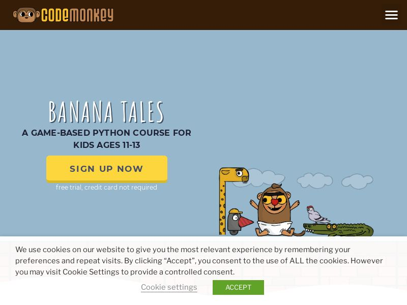 CodeMonkey - Coding for Kids - CPA - [US]