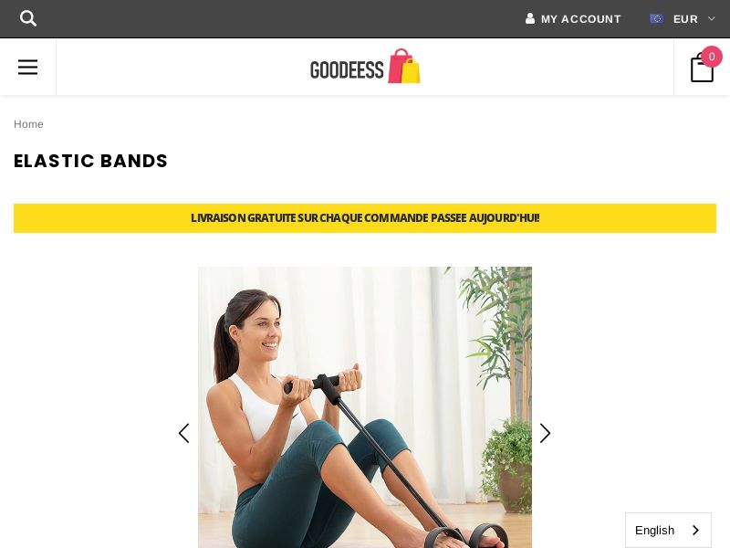 Resistance Bands (FR) (SURVEY ALLOWED) (SMS ALLOWED)