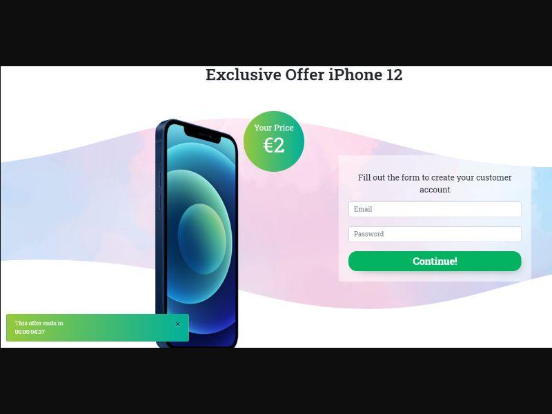 !SO! MultiGEO - Win iPhone 12 [AE] - CC Submit