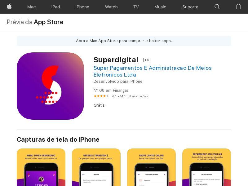 SuperDigital BR iOS CPA