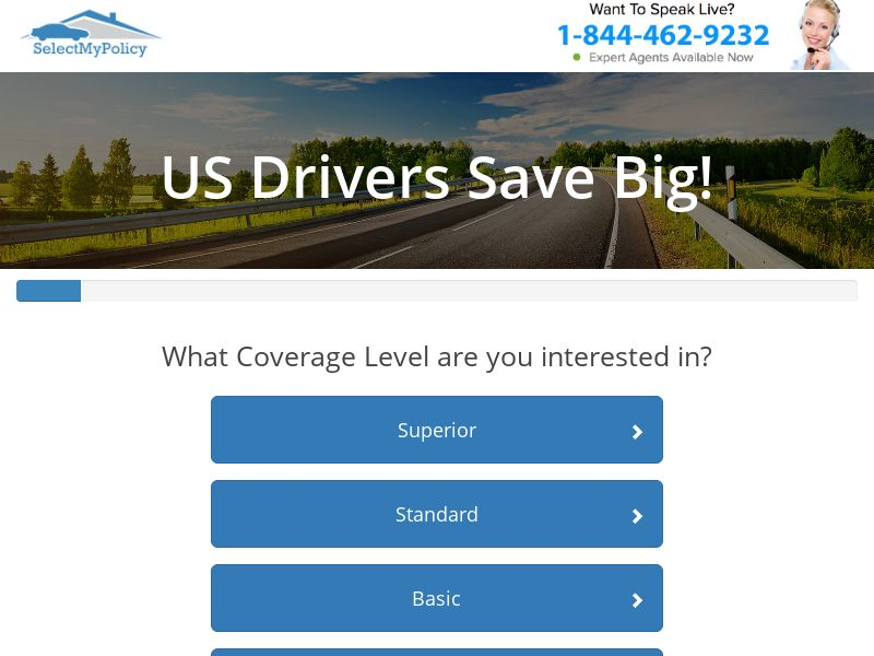 Select My Policy - Auto Insurance - SOI - [US]
