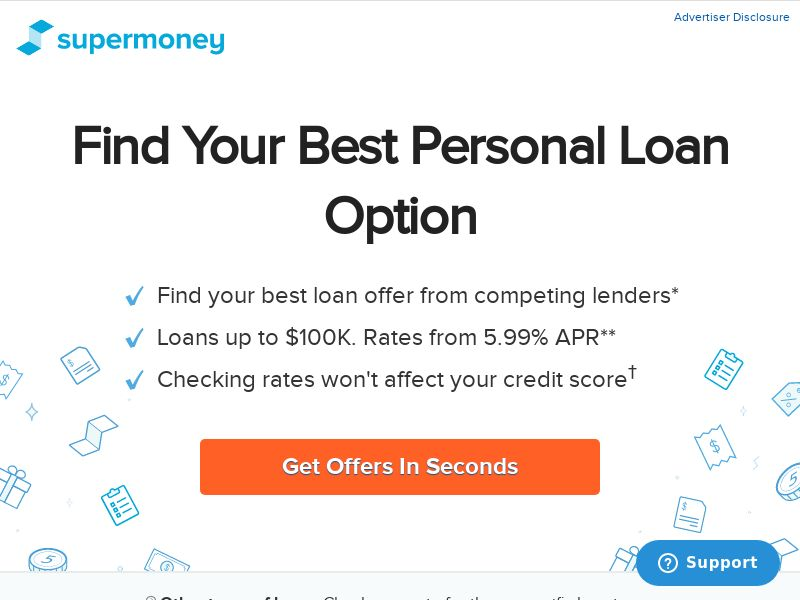 SuperMoney - Personal Loans