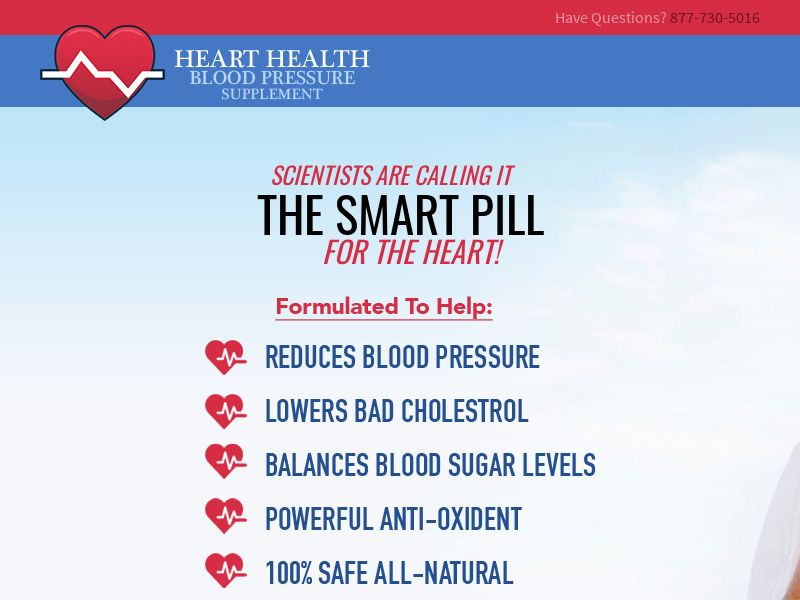 Health - Blood Pressure Supplement - SS (CA,US)