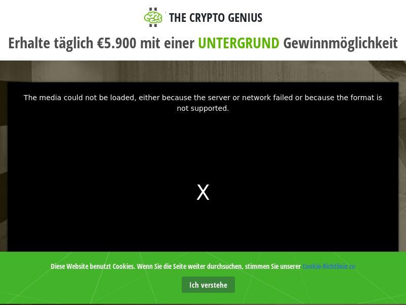 Crypto Genius - DE, CH, AT