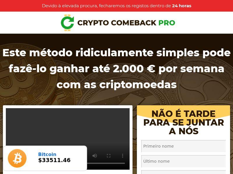 Crypto Comeback Pro - BR, PT