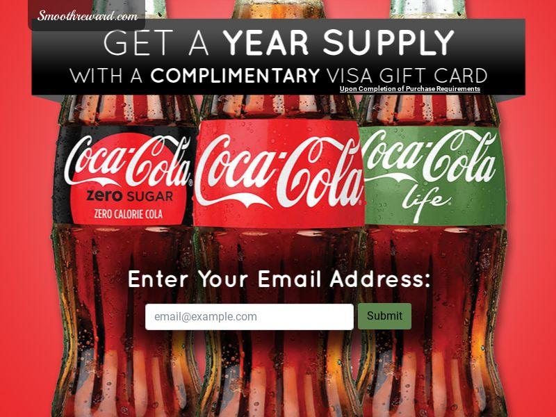 Premium Rewards USA - Year Supply of Coke CPL [US] (Incent)