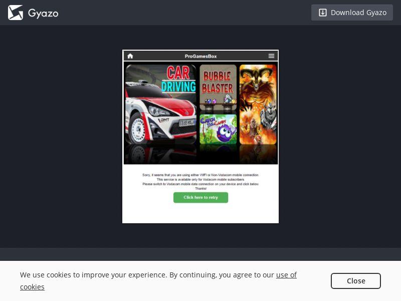 ZA - Progamebox - Vodacom